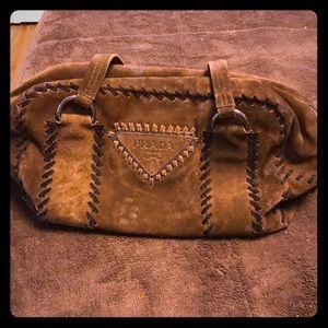 Prada Vintage Suede Bag